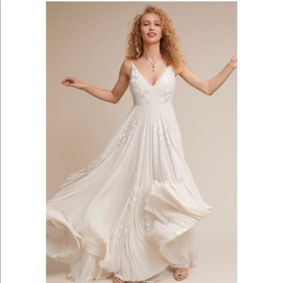 BHLDN Dresses & Skirts - BHLDN Dreams of You Wedding Gown Size 0 2 6 12 NEW